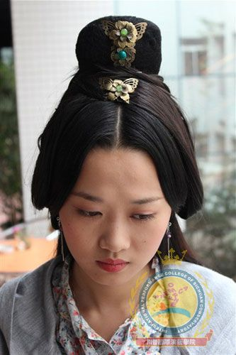 汉朝发型图片展示图片